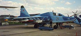 Un des prototypes du Su-25TM/Su-39