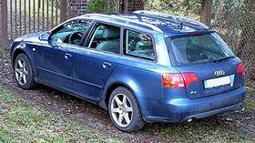 Une Audi A4 Avant