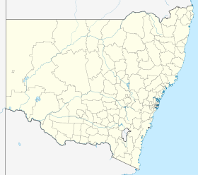 (Voir situation sur la carte de Nouvelle-Galles du Sud)