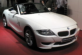 Une BMW Z4 M Roadster