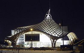 Centre Pompidou-Metz nuit 07-01-2010.JPG