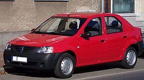 Une Dacia Logan dans sa version de base