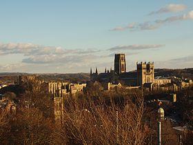 Cathédrale de Durham et le Château de Durham