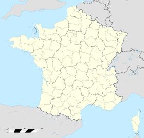 France location map-Regions and departements.svg