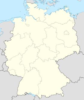 (Voir situation sur la carte d'Allemagne)
