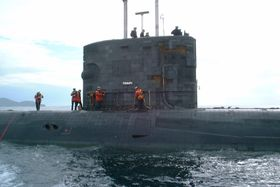 sous-marin d'attaque HMS Triumph (S93)