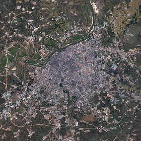 Image satellite de Harbin (NASA)