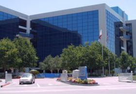 Siège social de Intel à Santa Clara dans la Silicon Valley au nom de Robert Noyce, inventeur des circuits intégrés