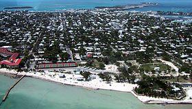 Vue générale de Key West
