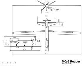 MQ-9 Reaper dimensioned sketch.png