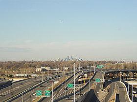 Autoroutes en direction de Minneapolis.