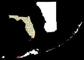 Localisation de Key West