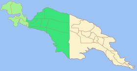 Carte de la Nouvelle-Guinée.
