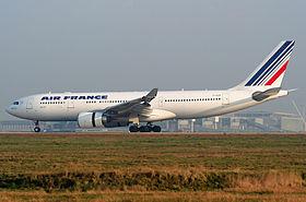 L'A330-200 F-GZCP en mars 2007, qui s'abimera en mer deux ans plus tard.