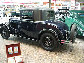 Peugeot 201 de 1927.