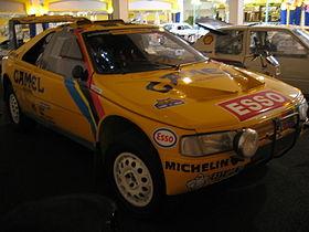 2 fois vainqueur du Rallye Paris-Dakar de 1990 et 1991 avec Peugeot 405 Turbo 16.