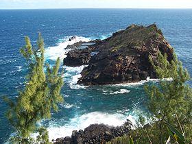 Vue de la Petite Île.