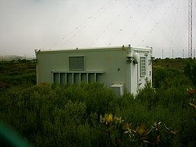 Bunker de surveillance à Sivermine (Afrique du Sud)
