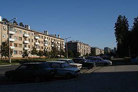 Quartier résidentiel à Snejinsk.