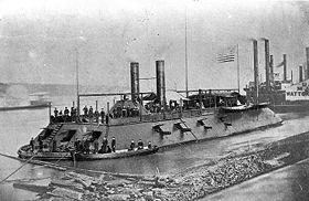 USS Cairo durant la guerre de Sécession