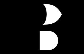 Demi additionneur (1 bit) où A et B sont les entrées, S la somme A + B et C la retenue.