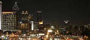 La skyline d'Atlanta