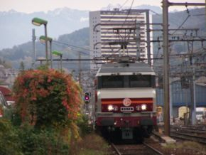 La CC 6570 à Chambéry (22/10/ 06).