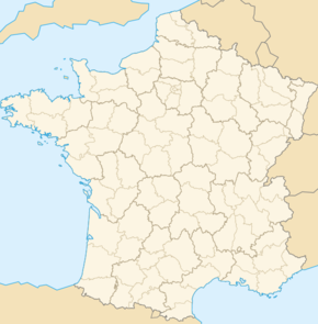 Carte de localisation de Lucciana