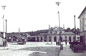 La gare des Chantiers avant 1932.