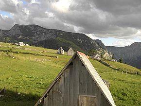 Vue de Mala Crna Gora