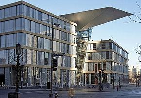 La nouvelle bibliothèque centrale ouverte en 2006.