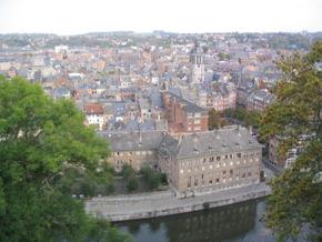 Vue de Namur depuis la citadelle