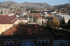 Vue générale de Cetinje