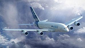 Photo-montage de l'A380
