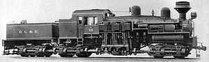 Une locomotive Shay