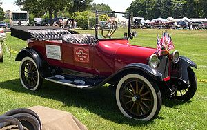 Dodge Brothers Touring car de 1917