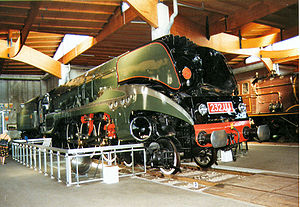 Locomotive 232 U1 au Mus�e de Mulhouse