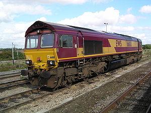 EWS locomotive, Classe 66