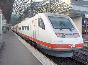 Rame ETR 460 des chemins de fer finnois à Helsinki
