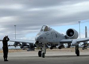 Un nouveau A-10C arrive à Davis-Monthan AFB le 29 novembre 2006