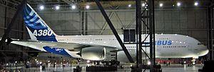 Première présentation de l'A380