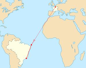 AF 447 path-notext.svg