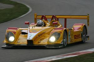 La Porsche RS Spyder du Penske Racing aux mains de Romain Dumas lors de l'American Le Mans Series 2007