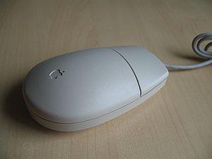 Une souris ADB Apple