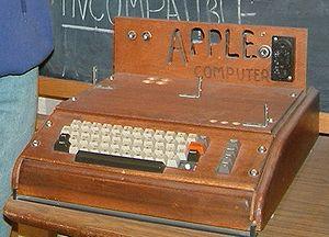 Apple I de Steve Wozniak et Steve Jobs