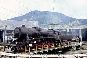 Une KDL 1 préservée en Autriche. La SNCF récupéra 42 de ces locomotives.