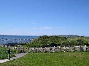 Reconstitution d'habitations Viking au Labrador