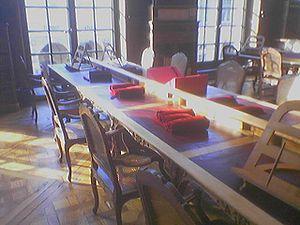 La salle de lecture du département des Manuscrits, division occidentale