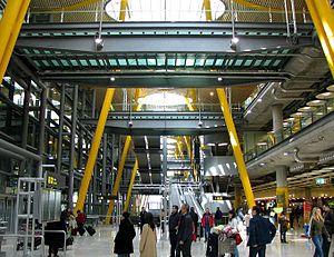 Interieur du Terminal 4