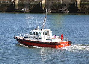 Bateau pilote du port du Havre